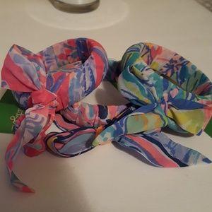 Lilly pulitzer GWP bracelets